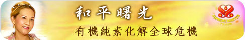 清海無上師─和平曙光:有機純素化解全球危機