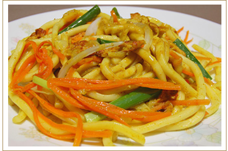 Vegetarian Era > Delicacies > Malaysia Curry Noodles